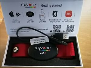 MyZone MZ-3 Physical Activity Tracking Heart Rate Monitor Belt