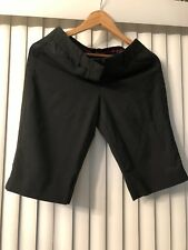 WOMENS PREOWNED EXPRESS PINSTRIPED SHORTS SIZE 4 #KUC273