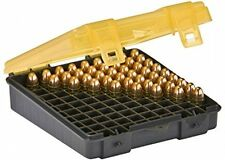 NEW Ammo Bullet Case Box Storage Organizer, 100 Count Handgun Gun Pistol 9mm NEW
