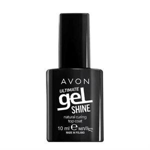 Avon ULTIMATE Gel Shine Natural Curing TOP COAT helps your mani last longer