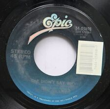 Country 45 Ricky Skaggs - She Didn'T Say Why / I'Ve Got A New Heartache On Epic