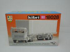 Kibri H0 18028 UN Sattelzug LKW MB weiß - Neu