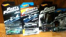 2013 Hot Wheels  Fast and Furious mixed lot 2013-14-16 total 7 cars