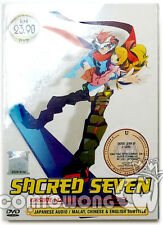 Sacred Seven 1-12 End JPN TV Anime DVD