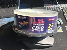 Fujifilm CD-R 52x 700mb 25pcs