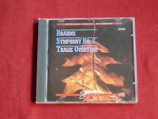 CD Classique BRAHMS : Symphonie N°2 , Tragic Overture