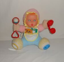 Vintage 1994 Toy Biz Gerber Playtime Baby Activity Baby Doll