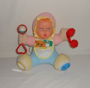 Vintage 1994 Toy Biz Gerber Playtime Baby Activity Baby Doll