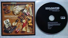 SOULSAVERS  It's Not How Far You Fall, It's The Way You Land PROMO CD Cardboard