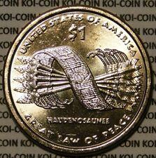 BU United States 2010 Sacagawea Native American dollar $1 coin HAUDENOSAUNEE D