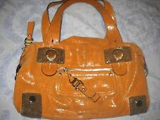 B. MAKOWSKY LINDSEY SATCHEL SHIMMERY Soft LEATHER Great Condition Retails @ $287