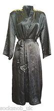 Ladies Ex High Street Quality Satin Wrap Dressing Gown, Kimono, all designs