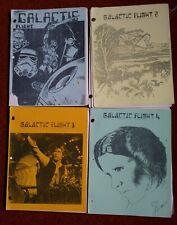Galactic Flight fanzine, issues 1 through 4