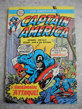 BD kiosque Captain America 1983 Aredit french comic book Marvel Lee vintage 80s