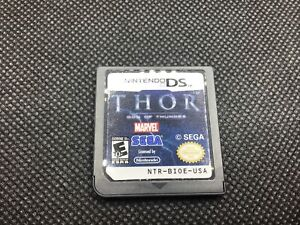 Thor: God of Thunder Nintendo DS Cart Only Rare - Tested Working - Free Shipping