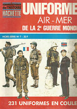 CON DE L HISTOIRE HS N°07 UNIFORMES AIR - MER DE LA 2ème GUERRE MONDIALE