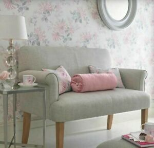 Laura Ashley Honeysuckle Trail Cyclamen Pink Wallpaper (1 Rol) * FREE DELIVERY *