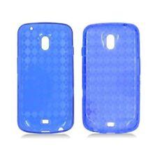 Fundas y carcasas transparente de color principal azul para teléfonos móviles y PDAs Samsung