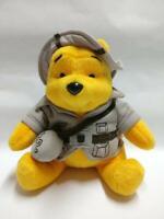 "McDonald's Winnie The Pooh Explorer Hunter Hat 7"" Plush Soft Toy F/S (PTY105)"