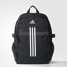 adidas Power 3 III Black White Laptop Training Backpack Medium Bag BP AX6936