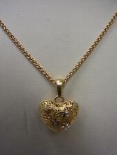 585er Gelbgold Halskette m Anhänger K Lang 41 cm Anänger 1,6x1,8 cm Ge 6,9 gramm