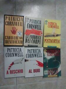PATRICIA CORNWELL  lotto 6 libri