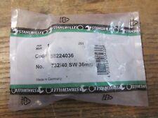 NEW NOS Stahlwille 58224036 732/40 36mm Ring Insert Tool