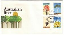 1978 FDC Australia. Trees. Various FDI PMKs