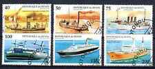 Bateaux Bénin (7) série complète de 6 timbres oblitérés