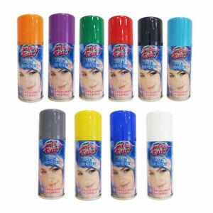 Lacca Spray Colorata per Capelli 100 ml Party Fun Hair Colour Feste Halloween