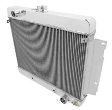 4 Row Performance Radiator For 69-70 Chevy Impala Radiator