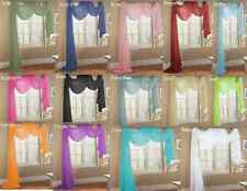 1 elegance sheer valance scarf topper swag window treatment covering all styles - Styles Of Valances