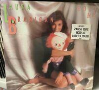 LAURA BRANIGAN HOLD ME LP 1985 SHRINK ATLANTIC 81265-1 SHRINK HYPE STICKER
