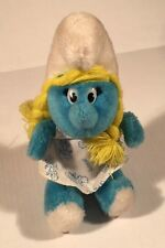 Smurf Smurfette Plush Toy Doll Vintage Collectible ; 1981