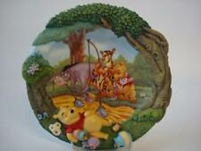 DISNEY BRADEX WINNIE THE POOH THE SWEETEST SORT OF CATCH 3D  PLATE