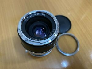 Contarex Distagon 35mm F2 Leica M