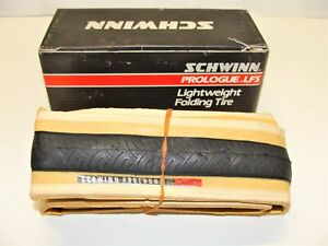~ Vintage New NOS Schwinn Prologue LFS Lightweight Folding Tires 700x19C ~
