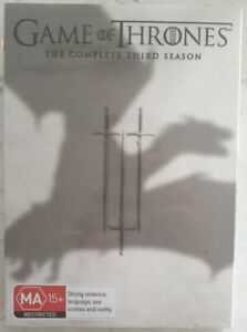 Game of Thrones: The Complete Third Season [New/Sealed DVD] Full Frame, Boxed