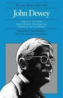 "Later Works of John Dewey 1927-1928 Vol. 3 : Essays, Reviews, Miscellany, and ""I"