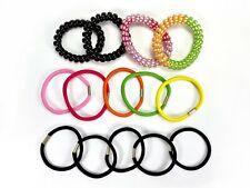 14 Pcs telephone line Hair Bands random color Women Ponytail Hair Accessories