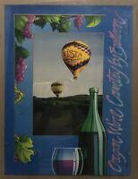 Oregon Wine Country By Hot Air Balloon Vista Adventures Art Poster John Kent