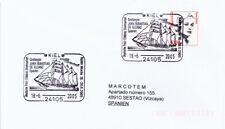 2005 - BUQUE ESCUELA JUAN SEBASTIAN ELCANO - KIEL (ALEMANIA). CIRCULADO