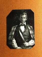 Jim Bowie Pioneer Hero Historical reproduction Museum Quality tintype C1085RP
