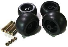 4 Pack HD Mower Deck Wheels Bolts Replacement for RZT50 RZT54 LT1050 753-04856A