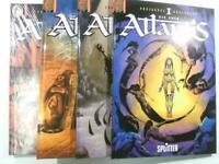 ATLANTIS Bd. 1 2 3 4 von 4 komplett Splitter / Kult Editionen Hardcover NEU