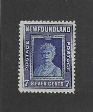 1941 Sct #257 1941-48 7c Queen Mother Mary Mint No Gum MNG