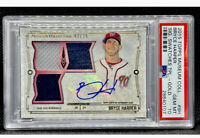 2015 Topps Museum Collection BRYCE HARPER 🔸AUTO🔸GOLD🔸Relic🔸PSA 10🔸#2/25