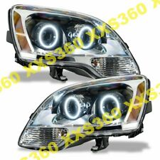 ORACLE Halo 2x HEADLIGHTS for GMC Acadia 08-12 WHITE LED Angel Eyes
