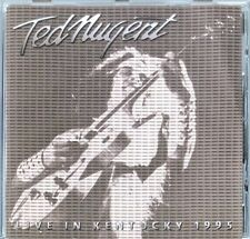 TED NUGENT - LIVE IN KENTUCKY 1995 (UK IMPORT) CD LIKE NEW