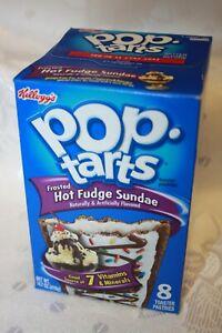 USA Kellogg's Pop Tarts Frosted Hot Fudge Sundae (8 toaster pastries)